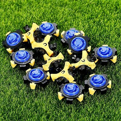 14Pcs Golf Shoe Spikes Fast Twist Cleats Soft Spikes Golf Shoe Spike Replacement