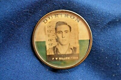 WWII ID Badge, DURIRON Company-Provided Material for Atomic Bomb