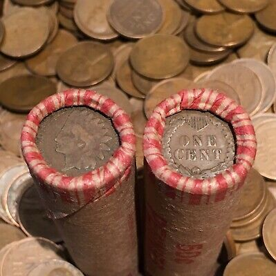 One Premium Window Wrapped Wheat Lincoln Cent Penny Roll 50 COINS