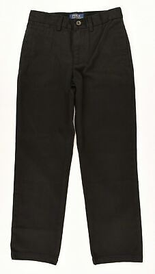 POLO RALPH LAUREN Boys' Kids' Chinos, Pants, Trousers, Black, size 6 years
