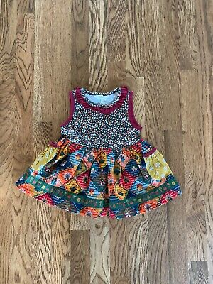 Matilda Jane Mohunk Mountain Sara Top Size 2 New Without Tags