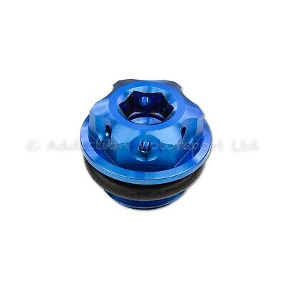 Blue Titanium Engine Oil Filler Cap Plug for Ducati Panigale 1199, 1299, V4