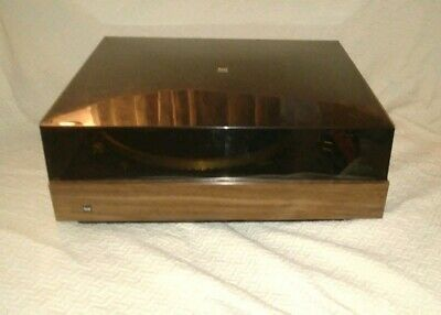 Dual CS-510 BELT DRIVE TURNTABLE with Base+Dust Cover vintage