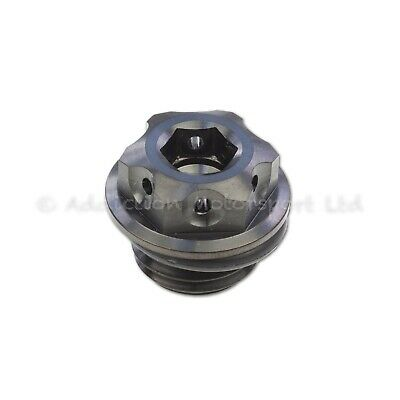 Black Titanium Engine Oil Filler Cap Plug for Ducati Panigale 1199, 1299, V4