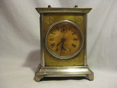 parts / repair antique carriage mantle clock S.T. Seth Thomas ? U.S.A. old