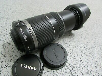 Canon EF-S 55-250mm F/4-5.6 Image Stabilizer Zoom Lens- For Canon Digital (KM44)