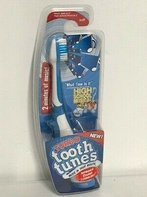 Turbo Tooth Tunes Batt. Pwrd. Toothbrush High School Musical 2, What Time Is It?