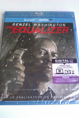 """BLU-RAY + UV """"The Equalizer"""" (Zone-A-B-C) - NEUF SOUS BLISTER"""