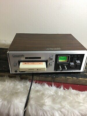 TESTED Panasonic RS-805US Stereo 8 Track Tape Deck Recorder Player