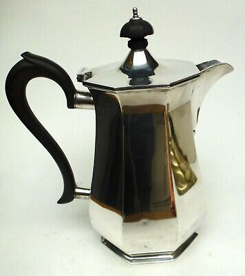 Silver Plate Coffee Pot Antique Epns