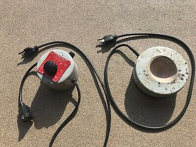Thermowell C3AM 100mL Round Heating Mantle & POWERMITE 1000W Controller *Works*
