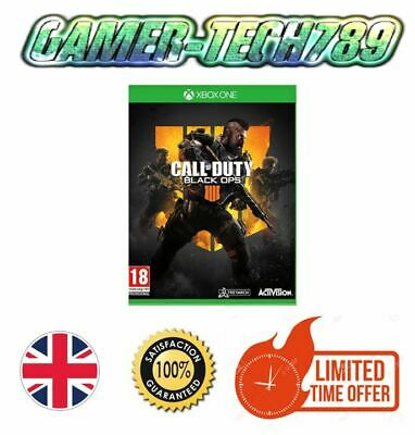 New and Sealed Call of Duty Black Ops 4 Microsoft Xbox One Game Free Delivery