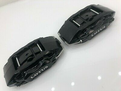 New Ap Racing 4 Pot Black Brake Calipers + Pads Evo Impreza Brembo M3 S3