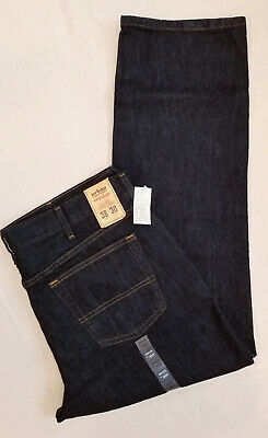 Mens Urban Pipeline Regular Fit Jeans 38x30 001 Black Rinse W38L30 100% Cotton