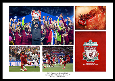 2019 LFC Liverpool Champions' League Final Poster Memorabilia Football Photo UCL