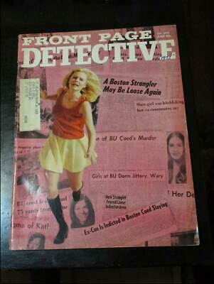 FRONT PAGE DETECTIVE June 1973-Terror City For Girls/One Way Ticket To The Grave