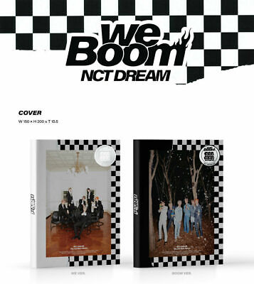 KPOP NCT DREAM, WE BOOM, Random Ver., 3rd Mini Album, Korea CD