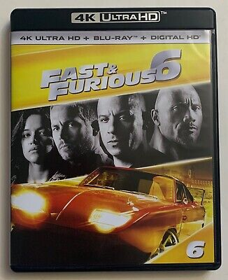 Fast & Furious 6 4K Ultra Hd Blu Ray 2 Disc Set Free World Wide Shipping Buy It