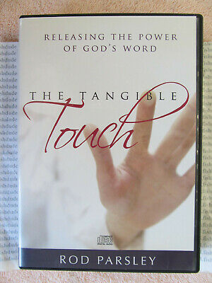 THE TANGIBLE TOUCH Releasing Power of God's Word by Rod Parsley CD 3 Disc Audio