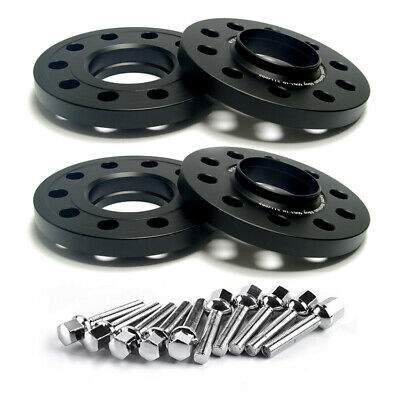 Fits Smart Fortwo Forfour Brabus Turbo EV Black Wheel Spacers 4x100 60.1 15mm x4