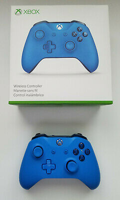 Official Microsoft Xbox One Blue Controller (pre-owned, excellent condition)