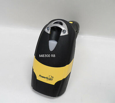 Datalogic Powerscan PM8300 Barcode Scanner M8300 910Mhz RB with Battery only