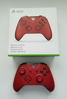 Official Microsoft Xbox One Red Controller (pre-owned, excellent condition)