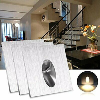 2/4/6X LED Recessed Light Wall Sconces Walkway Step Stair Corner Downlight Lamp