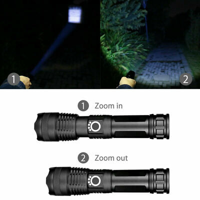 Aluminum 30000 lumens Lamp xhp50.2 most powerful flashlight usb Zoom led torch