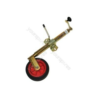Maypole Jockey Wheel - Telescopic -  Clamp - 34mm