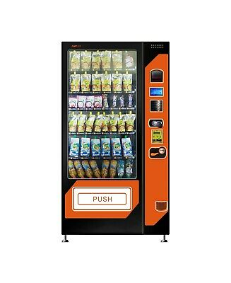 XY Drink & Snack Combo Vending Machine 8 Cross Black Brand New for Sale