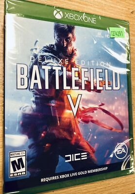 Battlefield V (5) Deluxe Edition - Xbox One - BRAND NEW