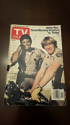 TV Guide January 12-18 1980 CHiPs. L.A. edition. Never used.
