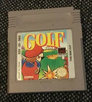 Nintendo Game Boy - Mario Golf Game Cartridge
