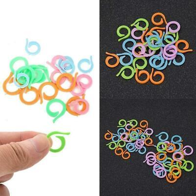 20x /Set Colorful Split Ring Stitch Marker DIY Crochet Knitting Supplies To Q3C3