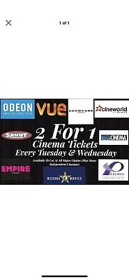 2 for 1 Cinema Ticket Code - Meerkat Movies - Instant Delivery- 23rd & 24th July