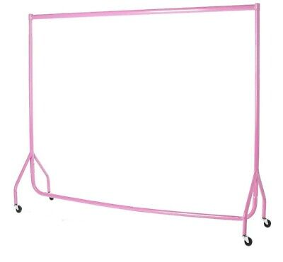 Garment Clothes Rails PINK HEAVY DUTY 4ft Market Retail Hanging Shop Displays ❤