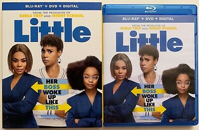 Little Blu Ray Dvd 2 Disc Set + Slipcover Sleeve Free World Wide Shipping Buy It