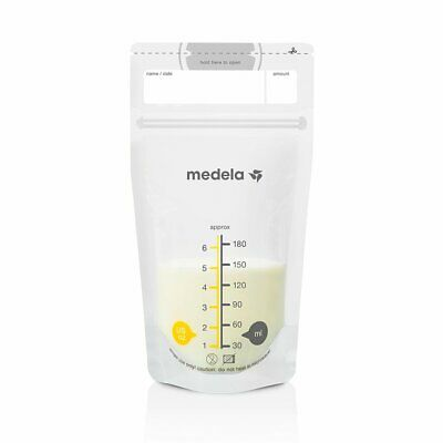 Medela Breast Milk Storage Bags 180ml 50pk AU FAST SHIPPING