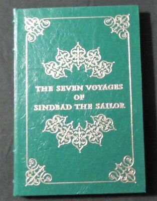 SEVEN VOYAGES OF SINBAD THE SAILOR - Easton Press Leather Famous Editions