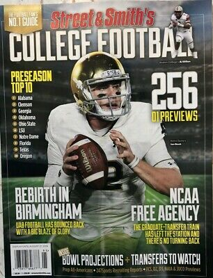STREET & SMITH COLLEGE FOOTBALL PREVIEW 2019 Lindy's athlon illustrated sports