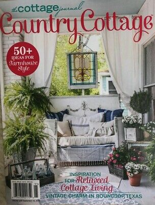 THE COTTAGE JOURNAL COUNTRY COTTAGE SUMMER 2019 flea market garden living decor