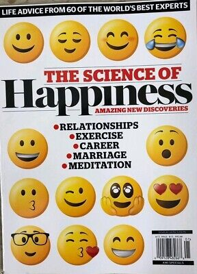 2019 THE SCIENCE OF HAPPINESS exercise mindfulness sleep laughter marriage time