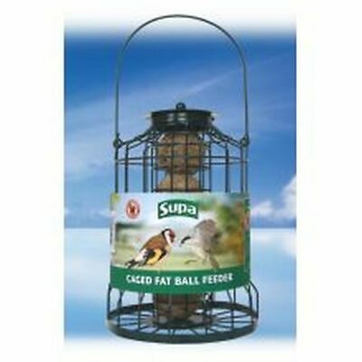(Pack of 4) Supa Caged Fat Ball Feeder - sgl [952]