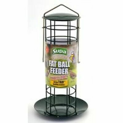 (Pack of 10) Supa Fat Ball Feeder & Tray - sgl [7181]