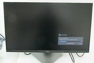 "Dell P Series 24"" Screen LED-Lit Monitor Black P2419H"