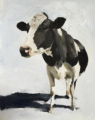 Barry Hart He/'s My Brother color Western Cattle Cow Calf Print Poster 27x22