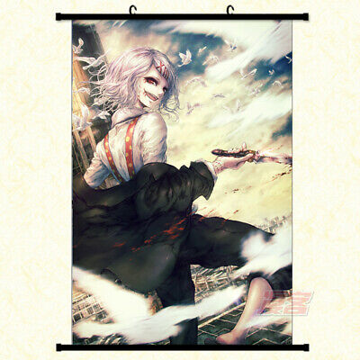 """8/""""*12/"""" Home Decor Japanese Anime Tokyo Ghoul Wall Poster Scroll 78"""
