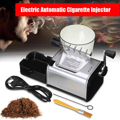 110V Electric Tobacco Cigarette Rolling Roller Automatic Injector Maker Machine