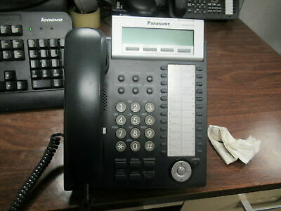 Used Panasonic KX-DT333 Phone Black 24 Buttons
